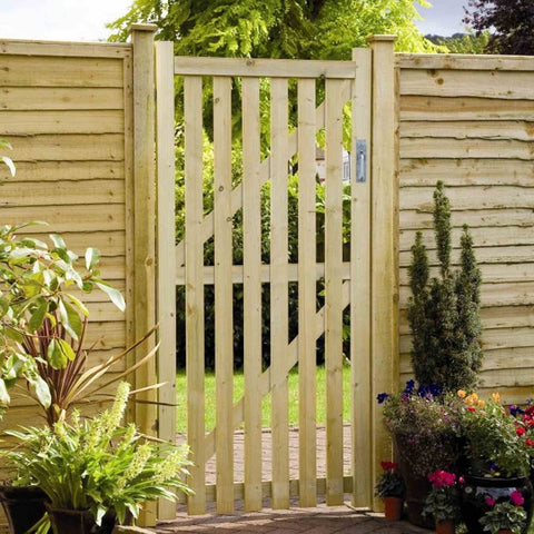 see through garden gate