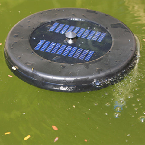 floating solar aerator