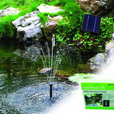 Solar pump for DIY water feature