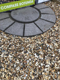 Compass Rotunda Paving Circle