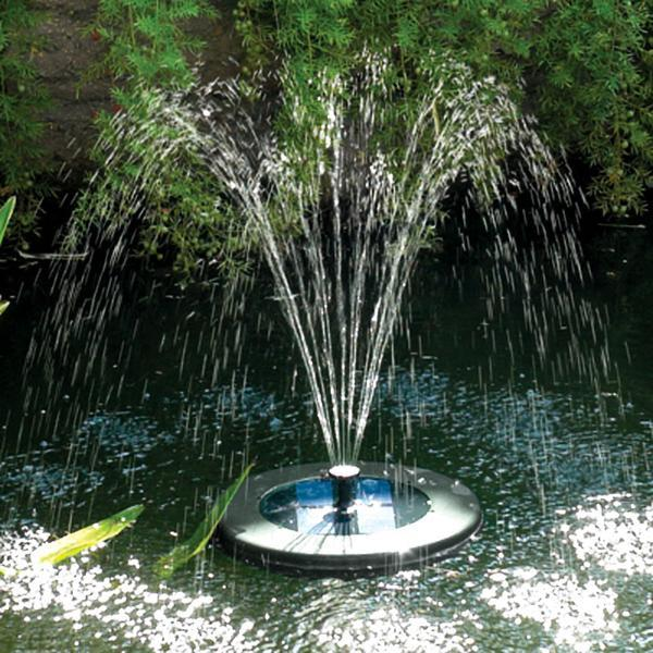 pond fountain