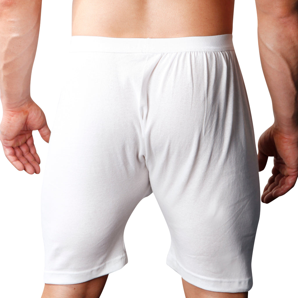 Players big or Tall Man/'s White Boxer Shorts   6x