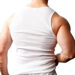 Load image into Gallery viewer, Big & Tall Man's Cotton Tank Top (2-pack)