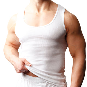 Big Man's Cotton Tank Top (2-pack)