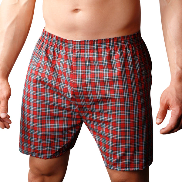 Big Man's Broadcloth Boxer (2-pack)