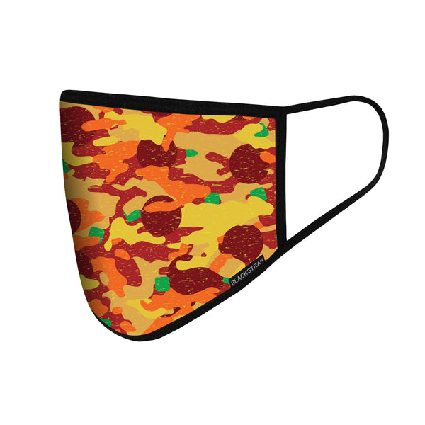 BlackStrap Kids Civil Mask Pizza Camo USA Made Facemask