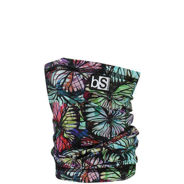 The Kids Dual Layer Tube Facemask | Floral Butterflies - BlackStrap Industries Inc. ALL RIGHTS RESERVED.