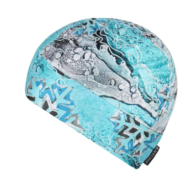 Midweight Helmet Liner | Nicole Bishopp Liquid Flakes - BlackStrap Industries Inc. ALL RIGHTS RESERVED.