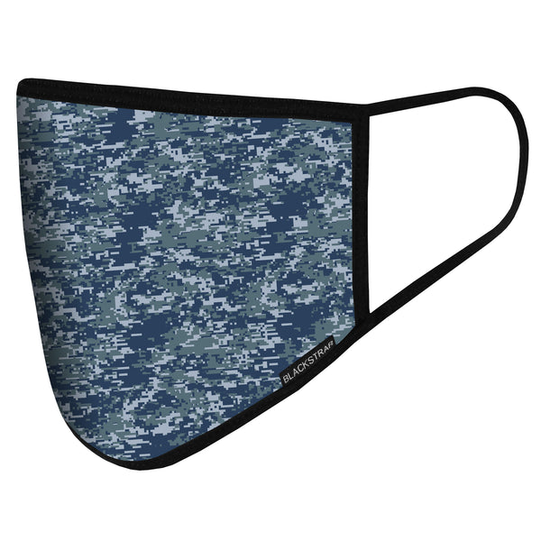 Civil Mask | Digital Blue Camo
