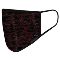 Civil Mask | Digital Maroon Camo