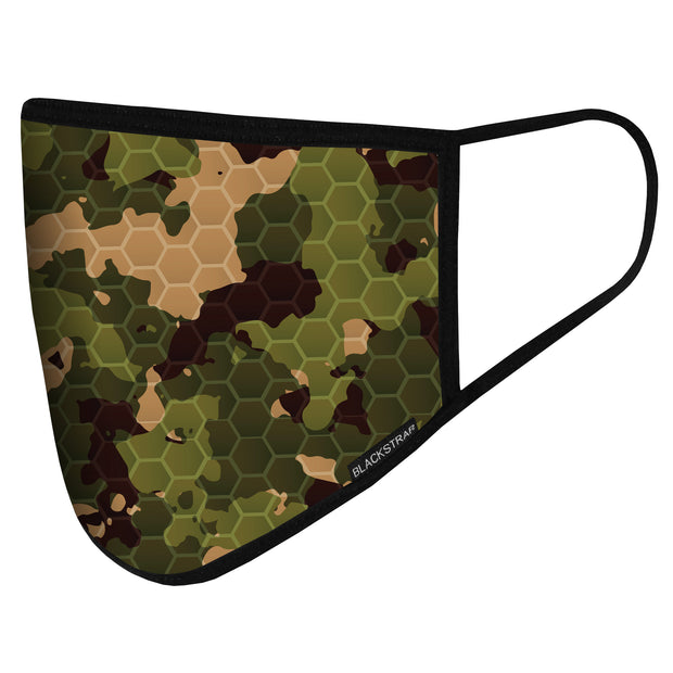 Civil Mask | Hex Forest Camo