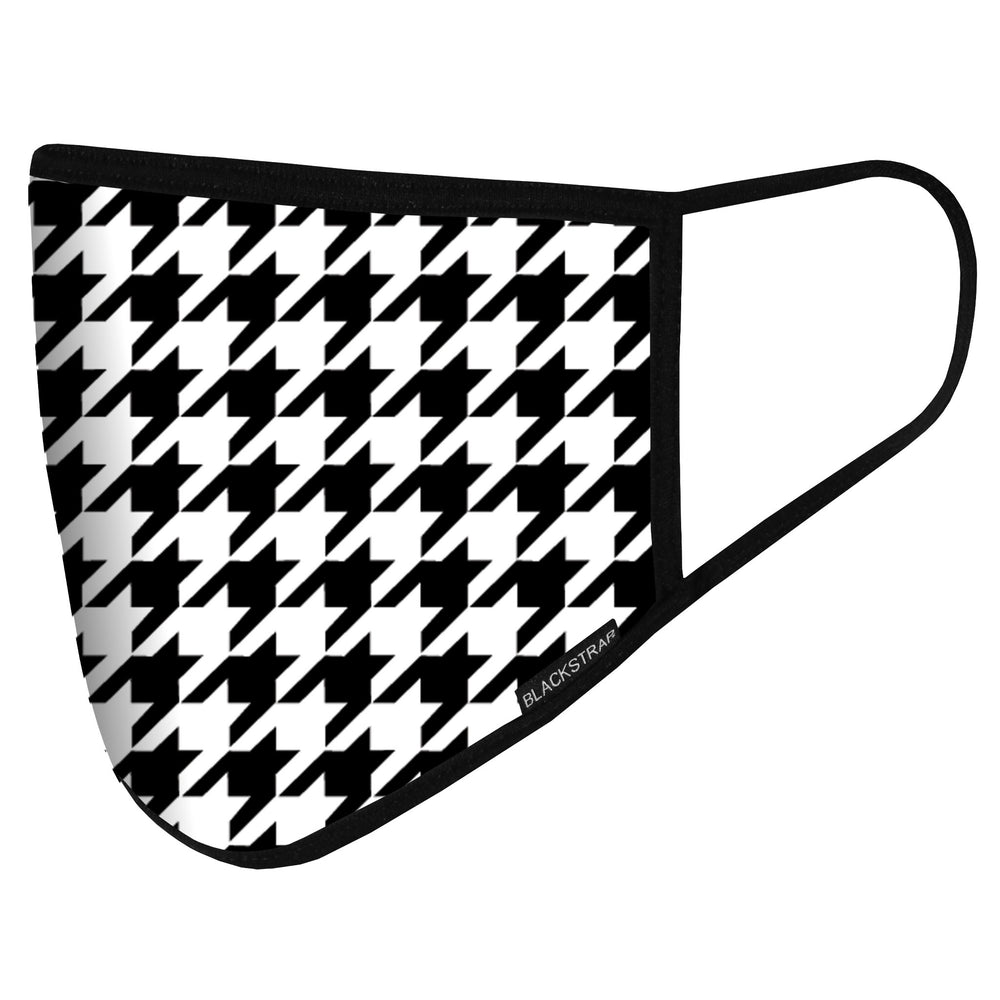 BlackStrap Civil Mask Houndstooth USA Made Public Safety Face Mask