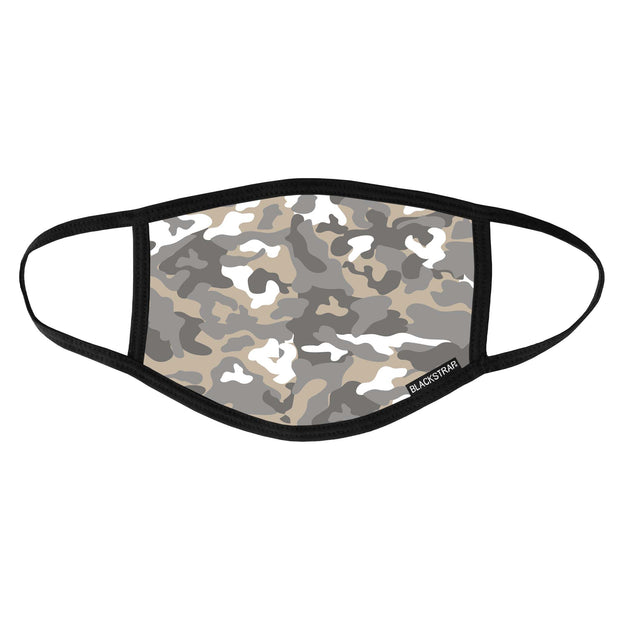 BlackStrap Civil Mask Mountain Camo USA Made Public Safety Face Mask - Top View