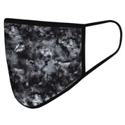 BlackStrap Civil Mask Tie Dye Black USA Made Public Safety Face Mask