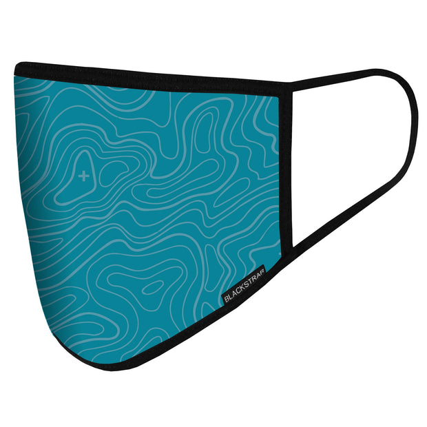 Civil Mask | Topo Time Teal