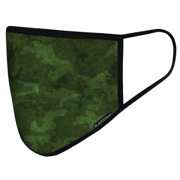 BlackStrap Civil Mask Tropic Camo Green USA Made Public Safety Face Mask