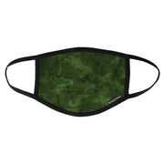 BlackStrap Civil Mask Tropic Camo Green USA Made Public Safety Face Mask - Top View