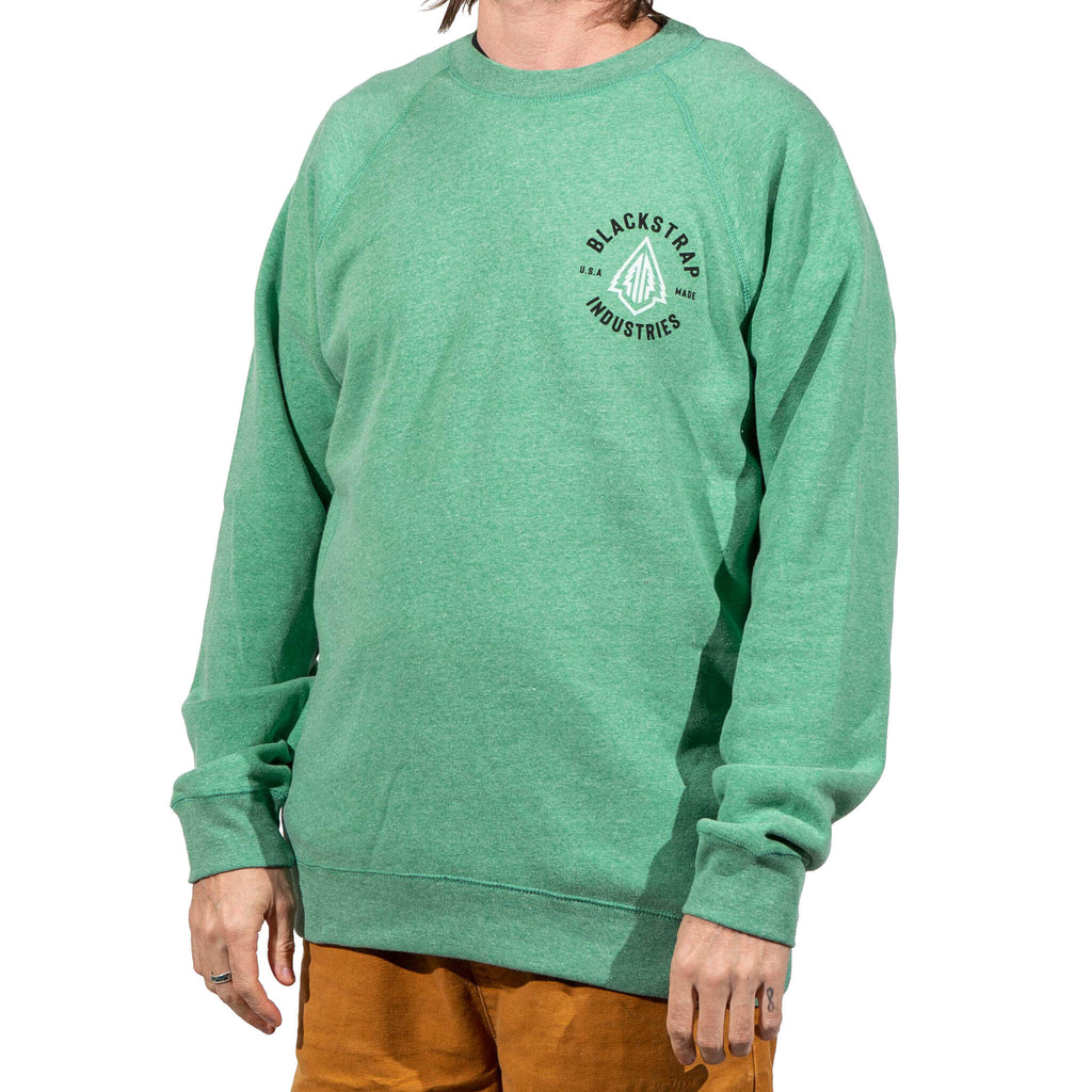 Traverse Crew Sweatshirt | Sea Green