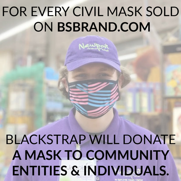 Civil Mask | Solid Black