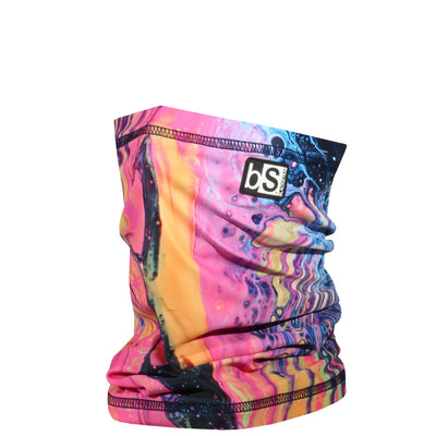 BlackStrap The Dual Layer Tube Nicole Bishopp Trippy Neck Gaiter Facemask Made In The USA