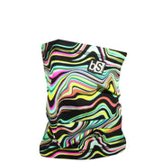 BlackStrap The Dual Layer Tube Neon Wavy Neck Gaiter Facemask Made In The USA