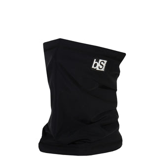 BlackStrap The Dual Layer Tube Black USA Made Neck Gaiter Facemask