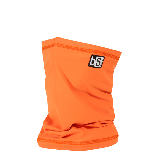 BlackStrap The Dual Layer Tube Bright Orange Neck Gaiter Facemask Made In The USA