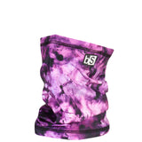 BlackStrap The Dual Layer Tube Tie Dye Orchid Neck Gaiter Facemask Made In The USA