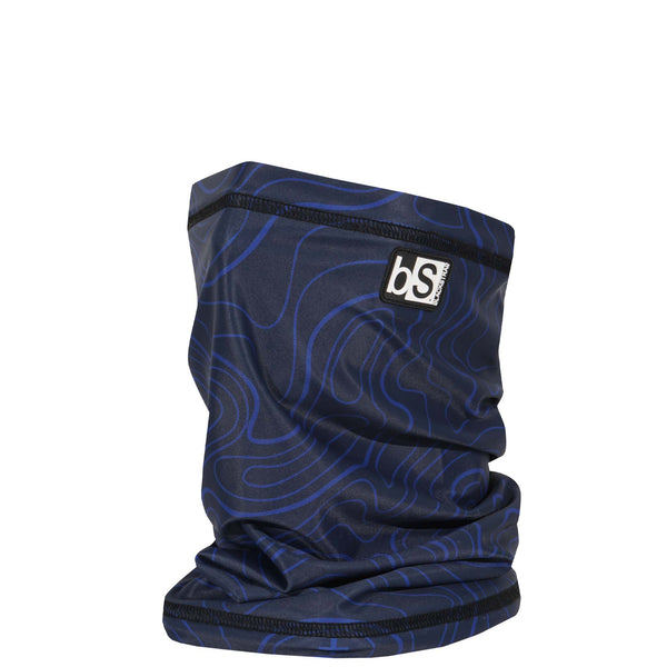 BlackStrap The Dual Layer Tube Topo Time Navy USA Made Neck Gaiter Facemask