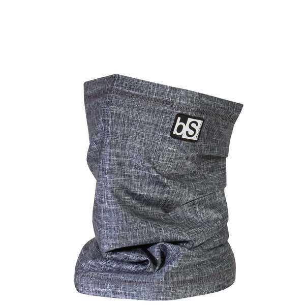 BlackStrap The Dual Layer Tube Tweed Black Neck Gaiter Facemask Made In The USA