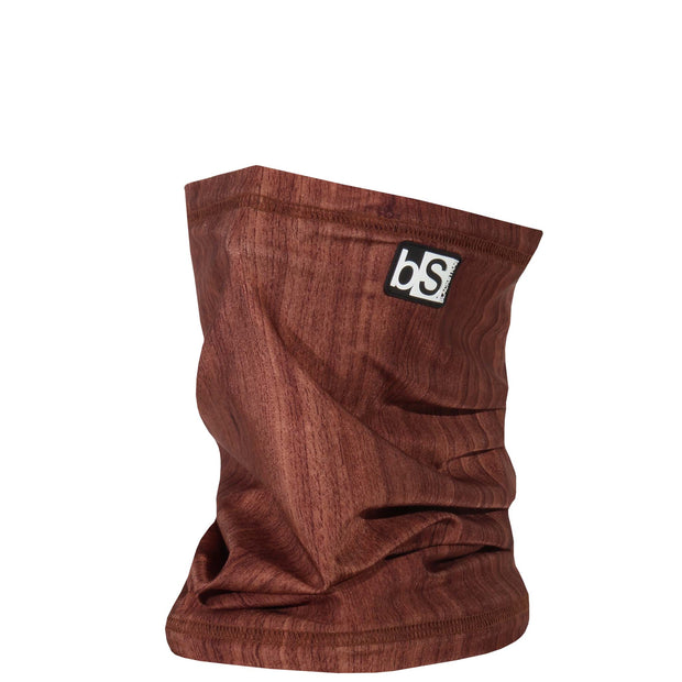 BlackStrap The Dual Layer Tube Woodgrain Dark Neck Gaiter Facemask Made In The USA