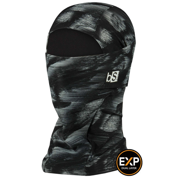BlackStrap The Expedition Hood Balaclava Brushed Black USA Made Facemask