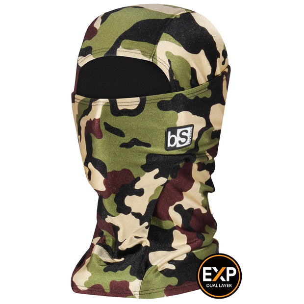BlackStrap The Expedition Hood Balaclava Camo Army Issue USA Made Facemask