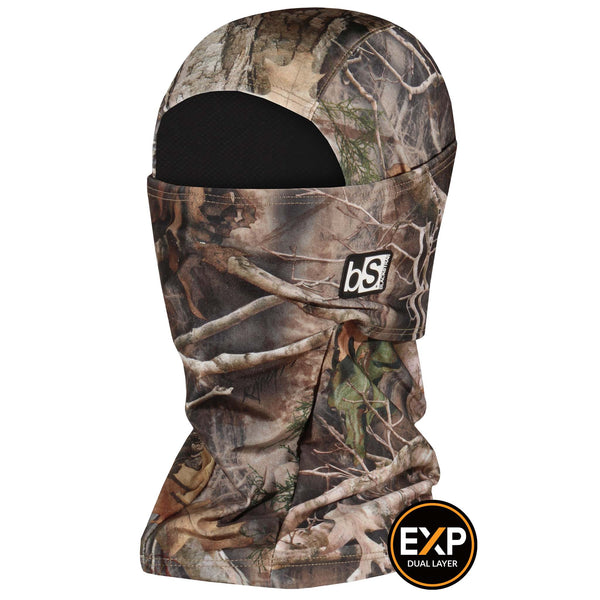 BlackStrap The Expedition Hood Balaclava Camo Northern Fall USA Made Facemask