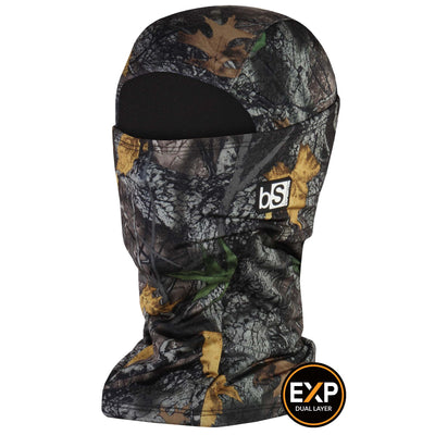 BlackStrap The Expedition Hood Balaclava Camo Western Fall USA Made Facemask