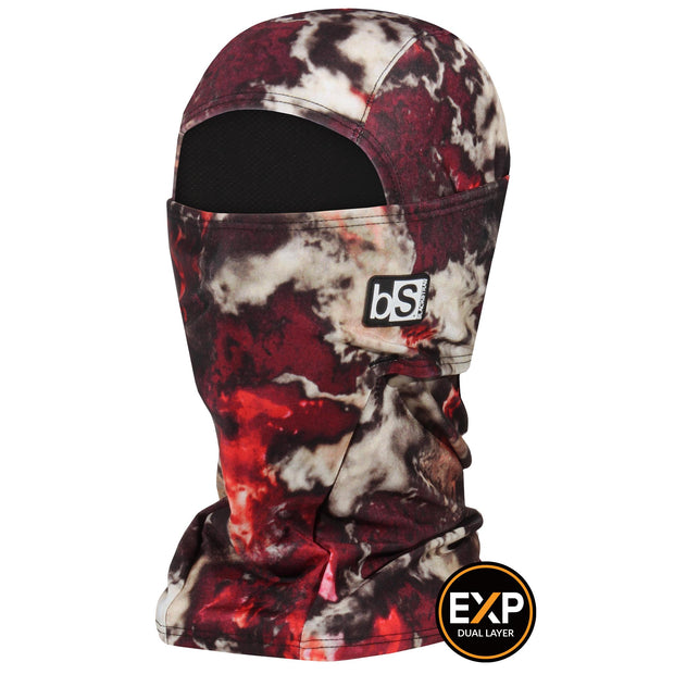 BlackStrap The Expedition Hood Balaclava Oxidized Red USA Made Facemask