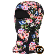 BlackStrap The Expedition Hood Balaclava Roses USA Made Facemask
