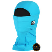 BlackStrap The Expedition Hood Balaclava Solid Bright Blue USA Made Facemask