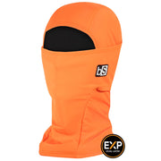 BlackStrap The Expedition Hood Balaclava Solid Bright Orange USA Made Facemask