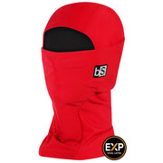BlackStrap The Expedition Hood Balaclava Solid Crimson Red USA Made Facemask