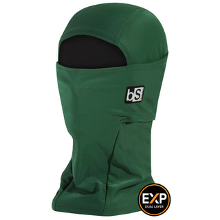 BlackStrap The Expedition Hood Balaclava Solid Forest Green USA Made Facemask