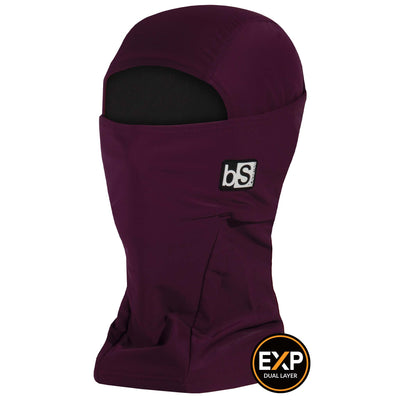 BlackStrap The Expedition Hood Balaclava Solid Merlot USA Made Facemask