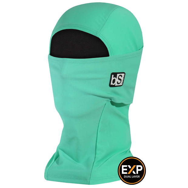 BlackStrap The Expedition Hood Balaclava Solid Mint USA Made Facemask