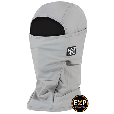 BlackStrap The Expedition Hood Balaclava Solid Steel Gray USA Made Facemask