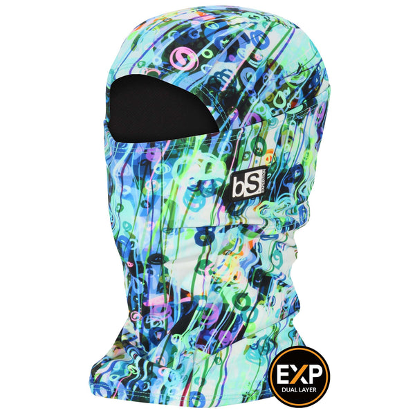 BlackStrap The Expedition Hood Balaclava Swirls and Stripes USA Made Facemask
