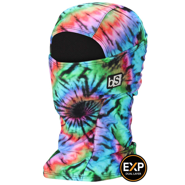BlackStrap The Expedition Hood Balaclava Woodstock Tie Dye USA Made Facemask