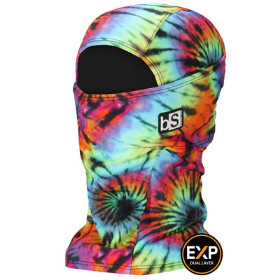 BlackStrap The Expedition Hood Balaclava Woodstock Fade Tie Dye USA Made Facemask
