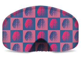 BlackStrap Goggle Cover Checkered Brains