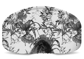 BlackStrap Goggle Cover Floral Zen Black and White USA Made