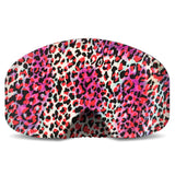 BlackStrap Goggle Cover Pink Leopard USA Made